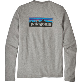 Patagonia P-6 Logo Lightweight - Couche intermédiaire Homme - gris